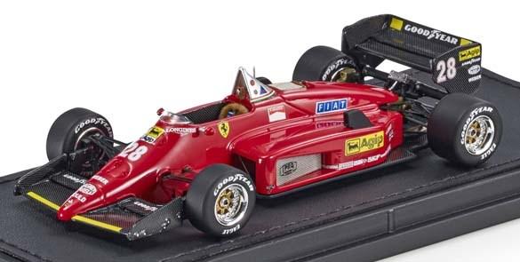【予約】 トップマルケス 1/43 フェラーリ 156-85 No.28 F1 R.アルヌー 完成品ミニカー GRP43010B
