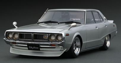 【予約】 イグニッションモデル 1/18 ニッサン スカイライン 2000 GT-X GC110 シルバー 完成品ミニカー IG1978