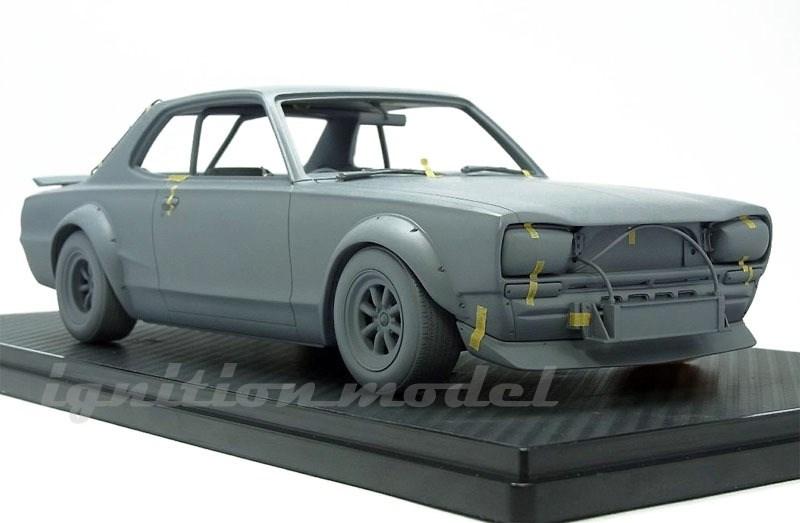【予約】 イグニッションモデル 1/18 ニッサン スカイライン 2000 GT-R KPGC10 No.15 1972 富士300kmスピードレース 完成品ミニカー IG2016