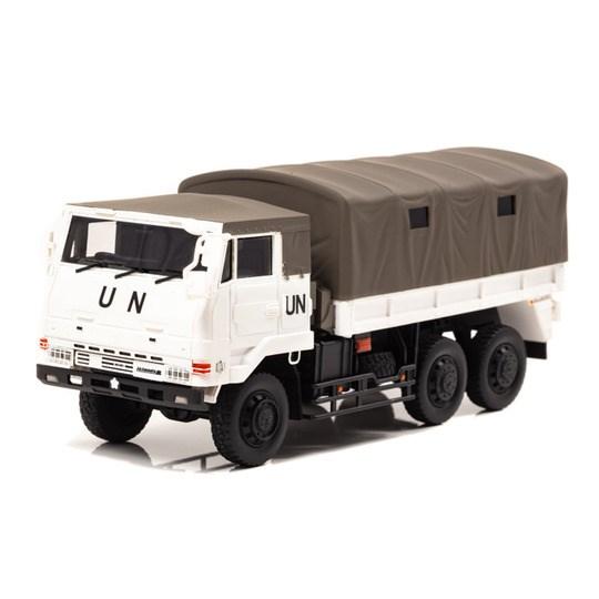 アイランズ 1/43 陸上自衛隊 3・1/2t トラック 73式大型トラック SKW477 国連平和維持活動仕様 完成品ミニカー IS430008