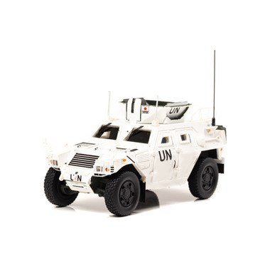 アイランズ 1/43 陸上自衛隊 軽装甲機動車 LAV 国連平和維持活動仕様 完成品ミニカー IS430009