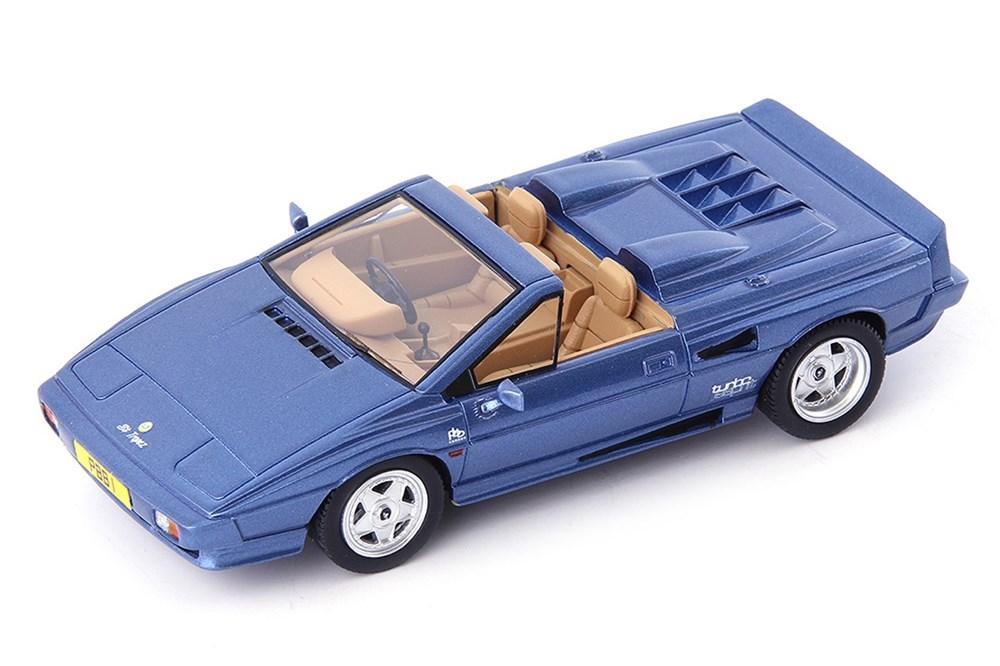 【予約】 アべニュー43 1/43 ロータス エスプリ PBB St.Tropez コンバーチブル 1990 ブルー 完成品ミニカー 60044