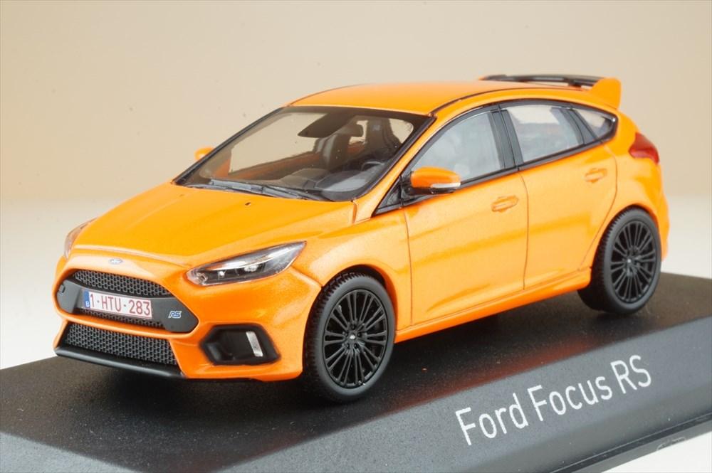 土日出荷可能 完成品ミニカー ノレブ 品質保証 1 43 フォード フォーカス RS 直送商品 メタリックオレンジ2018 270566 2016