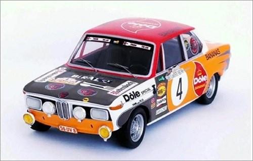 トロフュー 1/43 BMW 2002 ti No.4 1973 ラリー・イーペル ウィナー ペドロ/ジミー 完成品ミニカー RRbe20