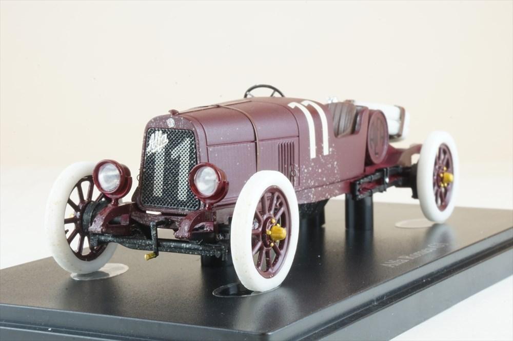 オートカルト 1/43 アルファロメオ G1 No.11 1921 タルガ・フローリオ 完成品ミニカー 1011