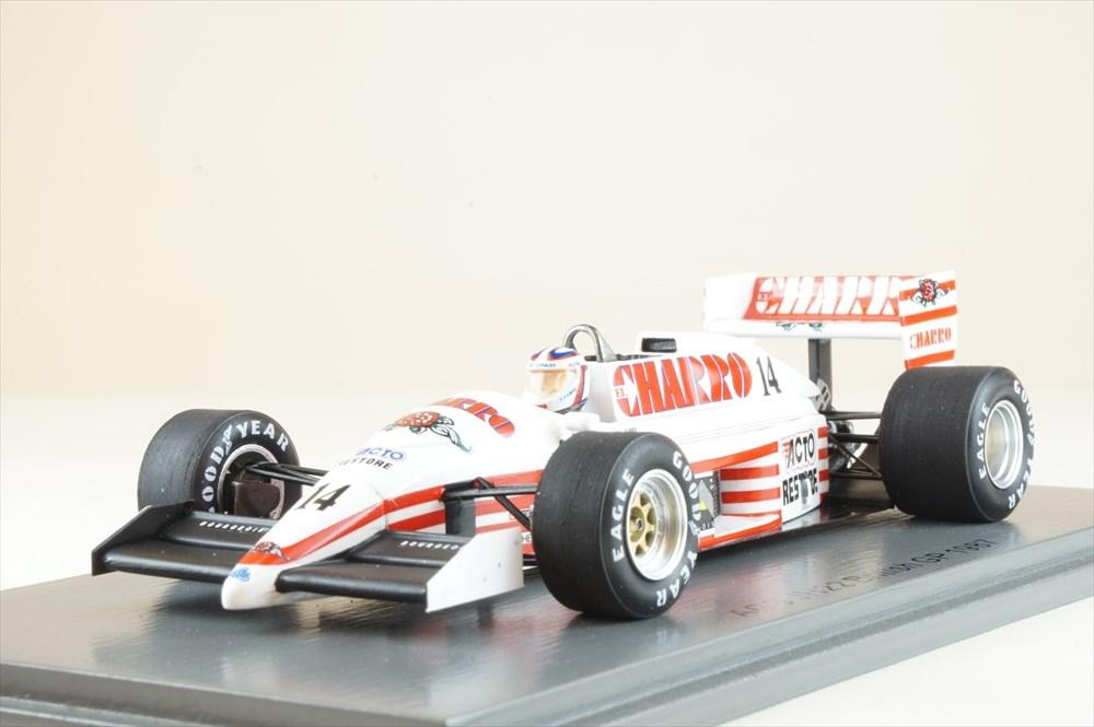 土日出荷可能 完成品ミニカー スパーク 1 43 AGS JH22 超特価SALE開催 F1 イギリスGP お気に入 No.14 S7235 P.ファブレ 1987