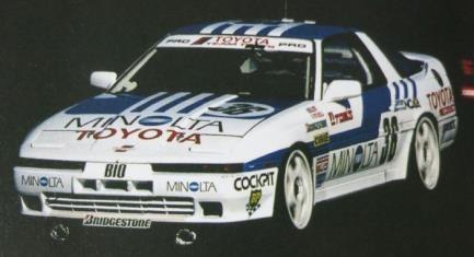 【予約】 イグニッションモデル 1/18 ミノルタ トヨタ スープラ ターボ No.36 1988 JTC 完成品ミニカー IG2099