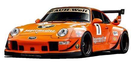 【予約】 イグニッションモデル 1/43 RWB ポルシェ 993 オレンジ 完成品ミニカー IG2173