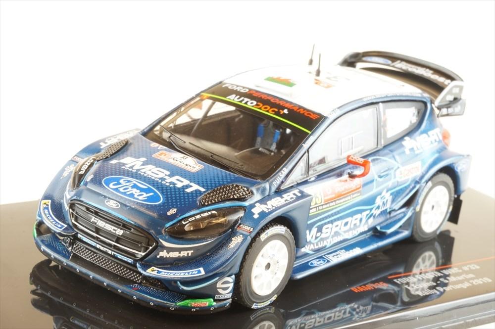 土日出荷可能 完成品ミニカー イクソモデル 1 43 フォード フィエスタ WRC 与え 2019 ポルトガル E.エバンス S.マーティン 半額 ラリー 5位 RAM715 No.33