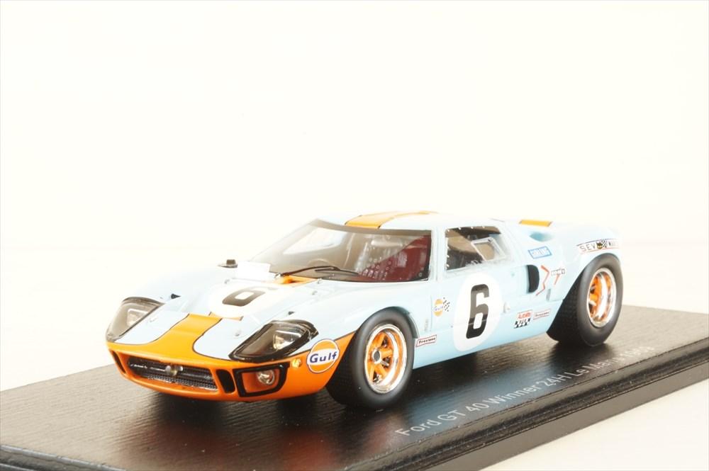 土日出荷可能 訳あり品送料無料 完成品ミニカー スパーク 1 43 フォード GT40 No.6 マン24時間 1969 ル J.イクス 43LM69 春の新作 ウィナー J.オリバー