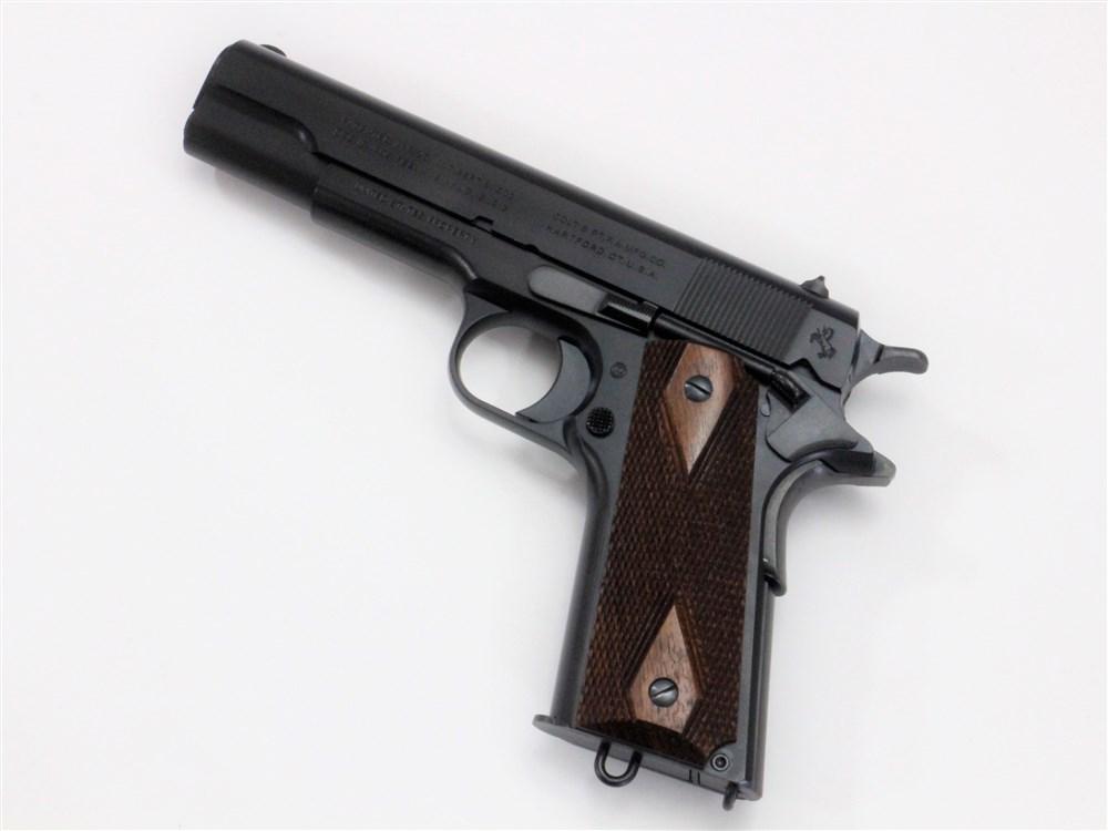 土日出荷可能 モデルガン 六研 エラン コルト ミリタリー DUO マーケティング 注文後の変更キャンセル返品 M1911 ブラック 109006043000
