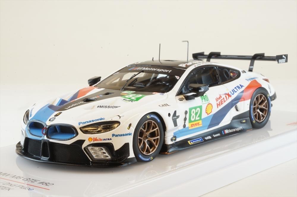 <title>土日出荷可能 完成品ミニカー トゥルースケール 1 43 BMW 新作 人気 M8 No.82 チーム MTEK 2018 LMGTE WEC富士6時間耐久レース 2位 TSM430437</title>