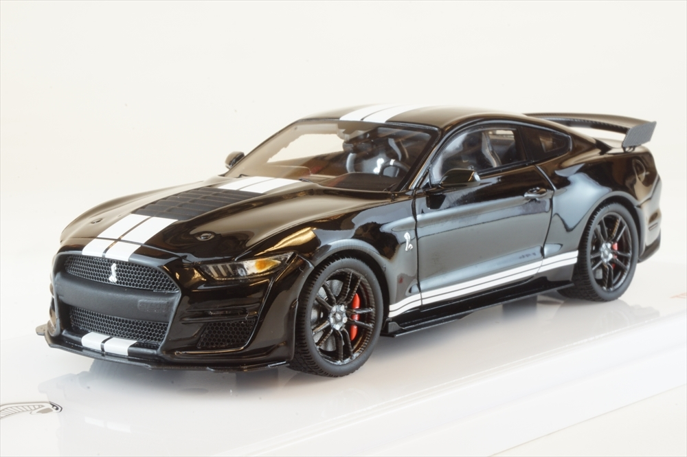 <title>土日出荷可能 完成品ミニカー トゥルースケール 1 43 品質保証 フォード マスタング シェルビー GT500 シャドウ ブラック TSM430478</title>