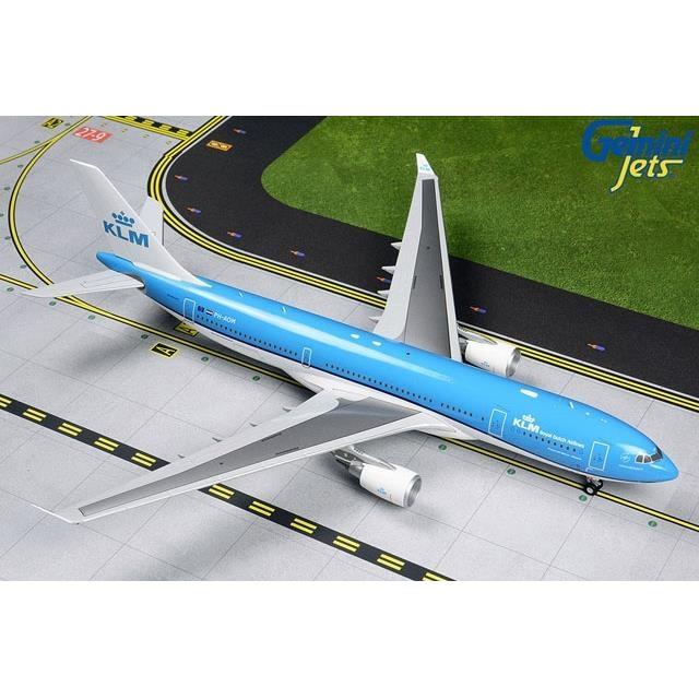 ジェミニ200 1/200 A330-200 KLM オランダ航空 新塗装 PH-AOM 完成品モデル G2KLM839