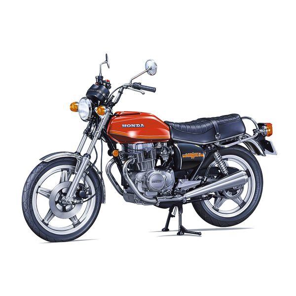 新品 送料無料 アオシマ 1 12 ザ☆バイク 新着セール No.35 ホンダ HAWK-II 4905083063040 CB400T スケールモデル '78