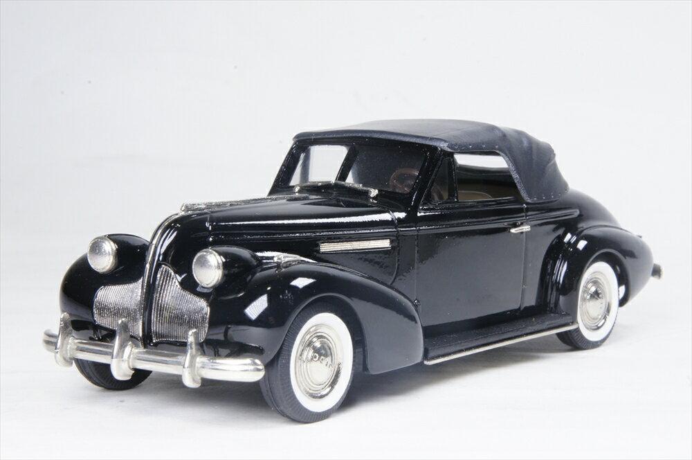 ブルックリン 1/43 センチュリー コンバーチブル M-66c 1939 ブラック リミテッド エディション 完成品ミニカー CSV02