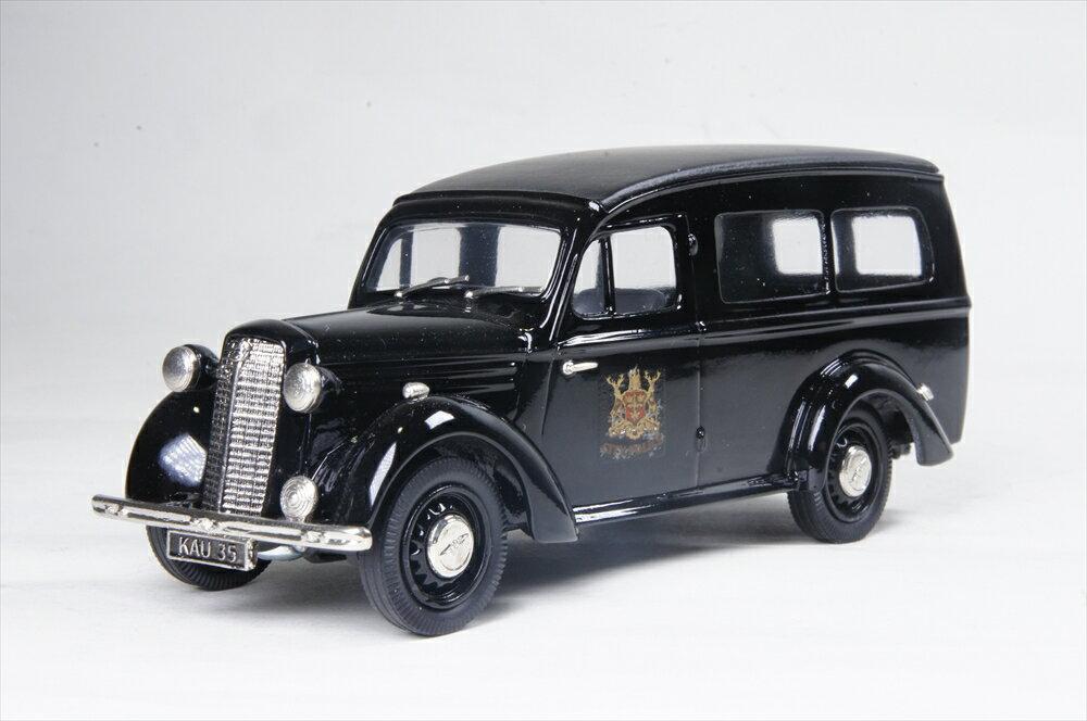 ブルックリン 1/43 ベドフォード ユーティリコン 'ノッティンガムシティポリス 1947 ブラック 完成品ミニカー IPV41