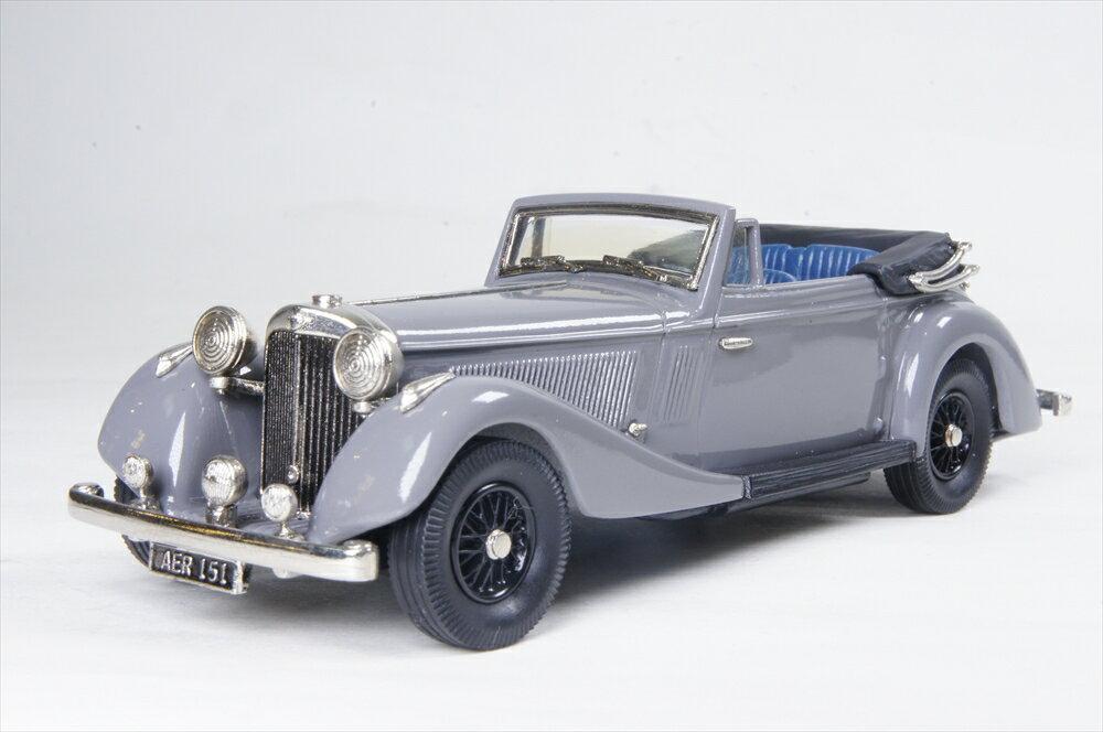 ブルックリン 1/43 ジェンセン 3.5 S タイプ コンバーチブル 1937 グレー 完成品ミニカー LDM103