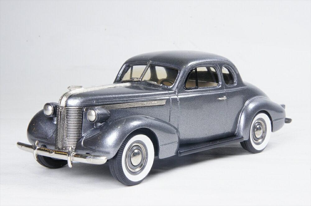 ブルックリン 1/43 ポンティアック デラックス シックス スポーツクーペ 1937 グレー 完成品ミニカー PC03