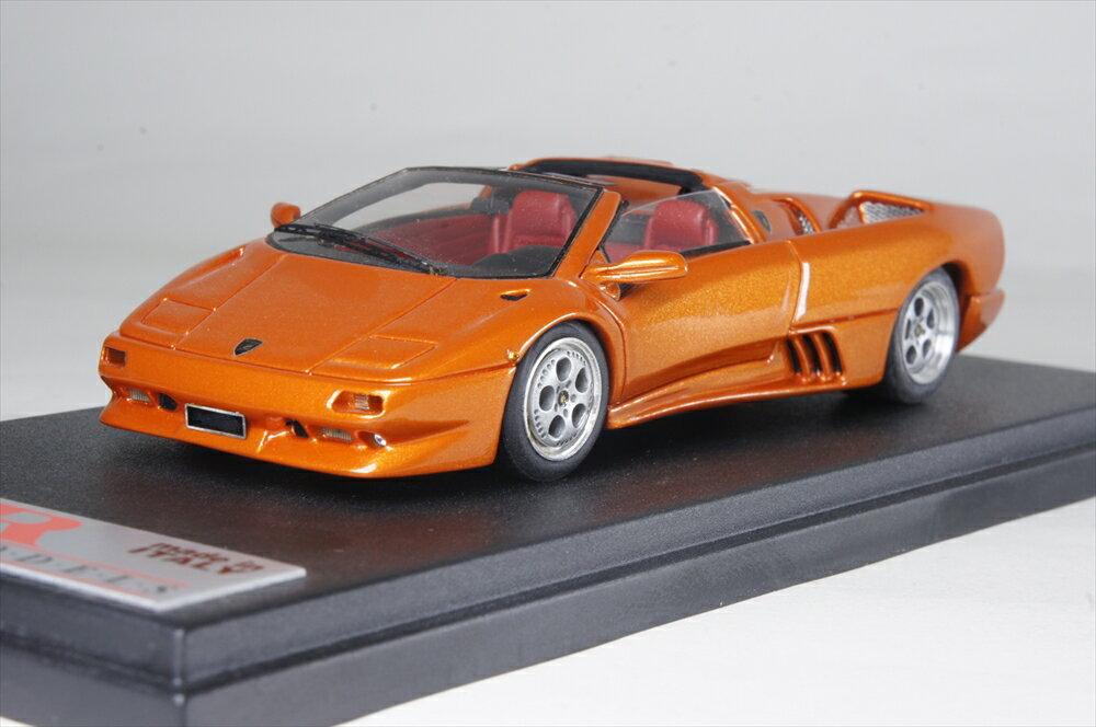 MRコレクション 1/43 ランボルギーニ ディアブロ VT ロードスター マットオレンジ 完成品ミニカー MR105C