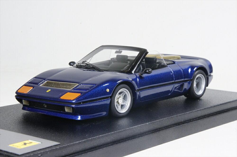 BBR 1/43 フェラーリ 512BB 1980 メタリックブルー 完成品ミニカー BBR174C