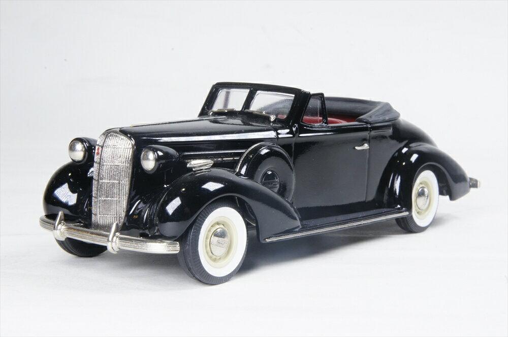 ブルックリン 1/43 ビュイック スペシャルコンバーチブルクーペ 46-C 1936 ブラック 完成品ミニカー BC026