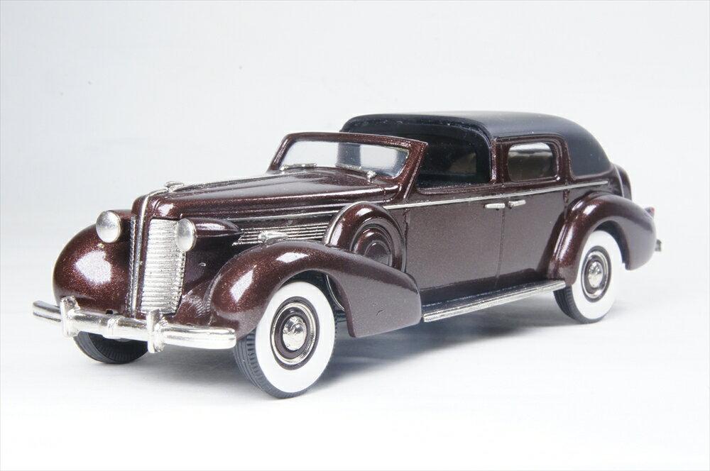 ブルックリン 1/43 ビュイック リミテッド ダーラム タウンカー 1938 ブラック/マスコバド 完成品ミニカー BC027