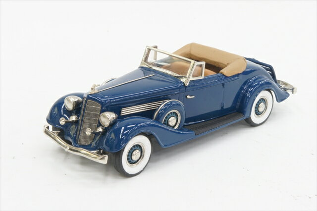 ビュイックコレクション 1/43 ビュイック M60 コンバーチブル クーペ 1934 フリーダムブルー 完成品ミニカー BC029