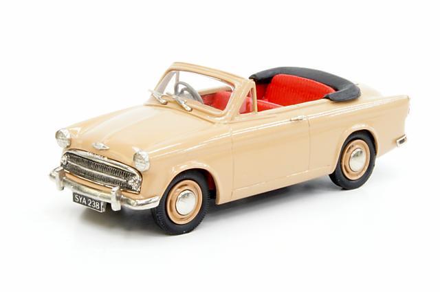ランズダウン 1/43 ヒルマン ミンクス コンバーチブル 1956 ハニーベージュ 完成品ミニカー LDM114