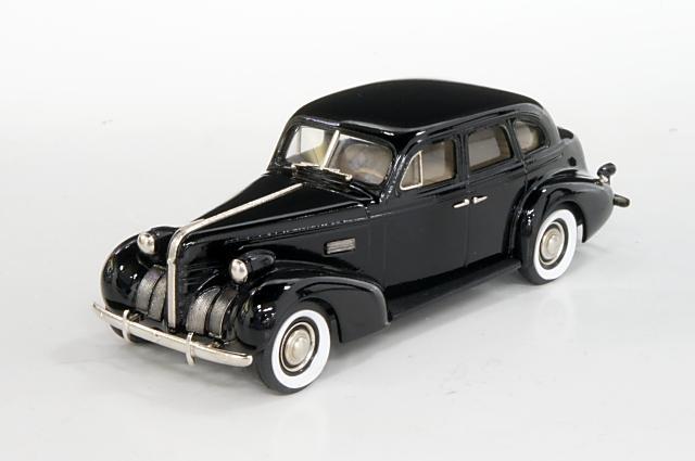 ポンティアックコレクション 1/43 ポンティアック デラックス シックス 4ドア ツーリングセダン 1939 ブラック 完成品ミニカー PC07