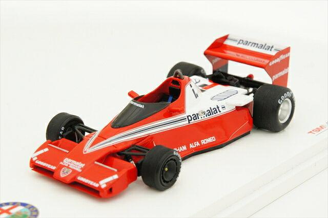 トゥルースケール 1/43 ブラバム BT46 アルファロメオ 1978 南アフリカGP No.1 N.Lauda 完成品ミニカー TSM144301