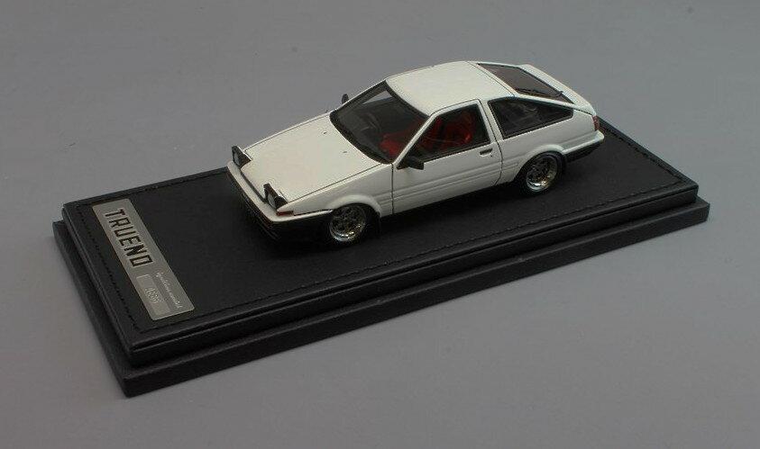 イグニッションモデル 1/43 トヨタ スプリンター トレノ 3Dr GTV AE86 ホワイト 完成品ミニカー IG0489