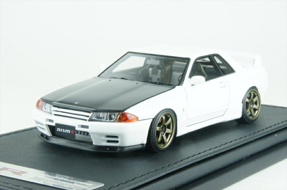 イグニッションモデル 1/43 ニスモ R32 GT-R S-tune ホワイト 完成品ミニカー IG0922