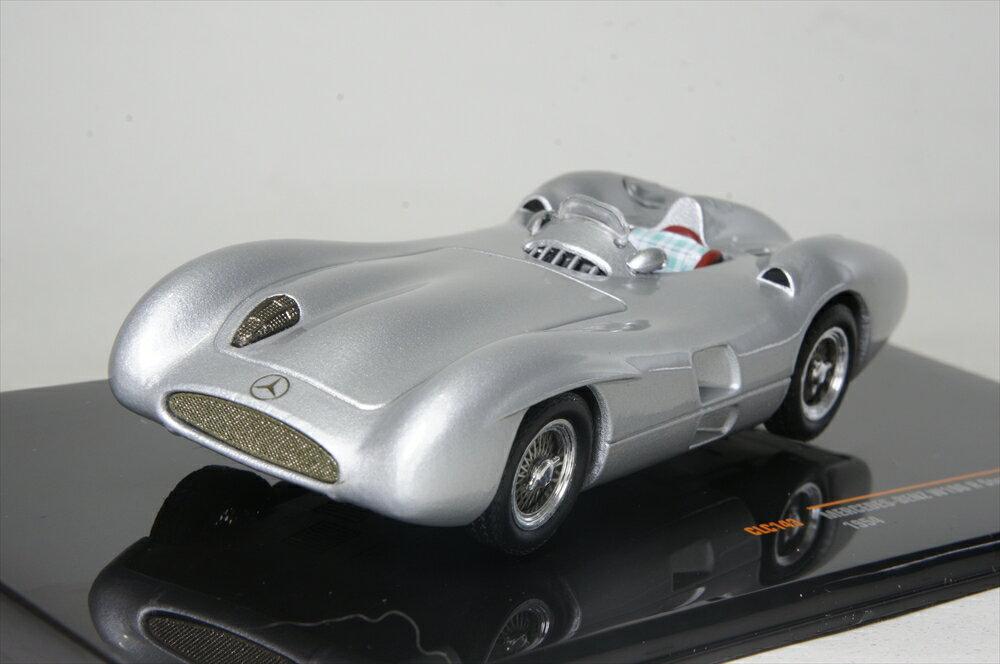 イクソ 1/43 メルセデスベンツ W196 R ストリームライナー 1954 シルバー 完成品ミニカー CLC143