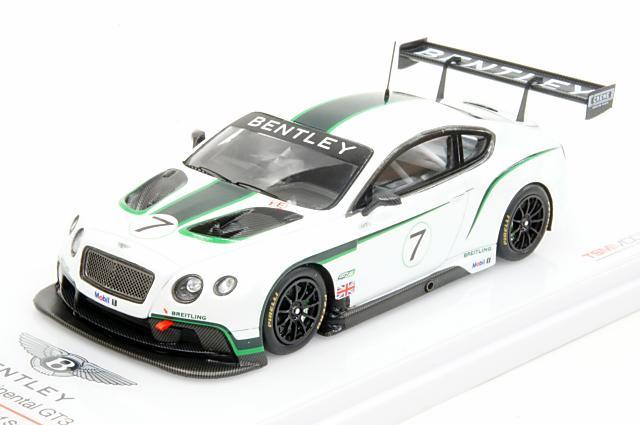 トゥルースケール 1/43 ベントレーコンチネンタル GT3 2013 グッドウッド・フェスティバル・オブ・スピード 完成品ミニカー TSM144314