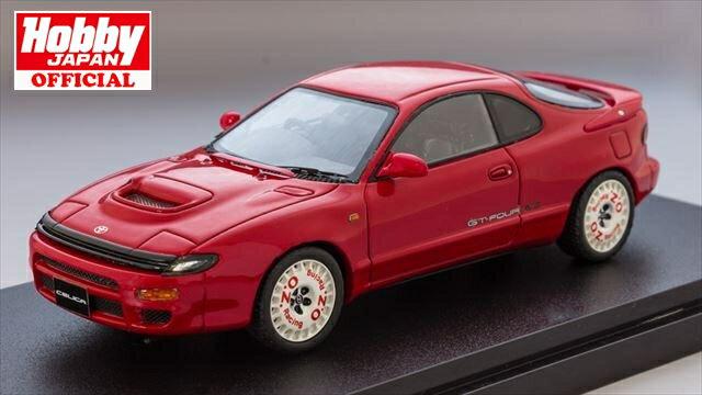 MARK43 1/43 トヨタ セリカ GT-FOUR RC ST185 スーパーレッドII ディッシュタイプスポーツホイール 完成品ミニカー PM4336SR