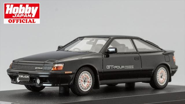 MARK43 1/43 トヨタ セリカ GT-FOUR ST165 1987 スポーツホイール ブラック 完成品ミニカー PM4337SBK