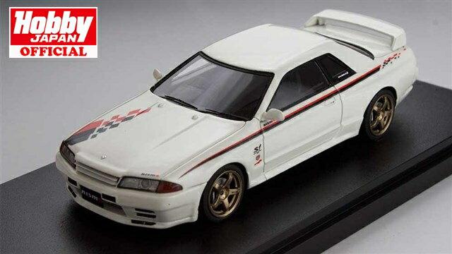 MARK43 1/43 ニッサン スカイライン GT-R R32 ニスモ S-Tune ホワイト 完成品ミニカー PM4326W