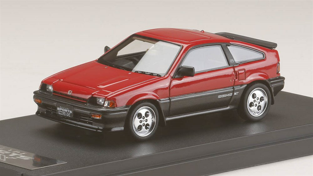 MARK43 1/43 ホンダ バラード スポーツ CR-X Si AS レッド 完成品ミニカー PM4384R
