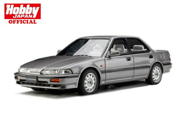 【ポストホビー限定】MARK43 1/43 ホンダ インテグラ DA7 RXi 1991 純正シートカバー高級タイプ グレーメタリック 完成品ミニカー PM4394RPH