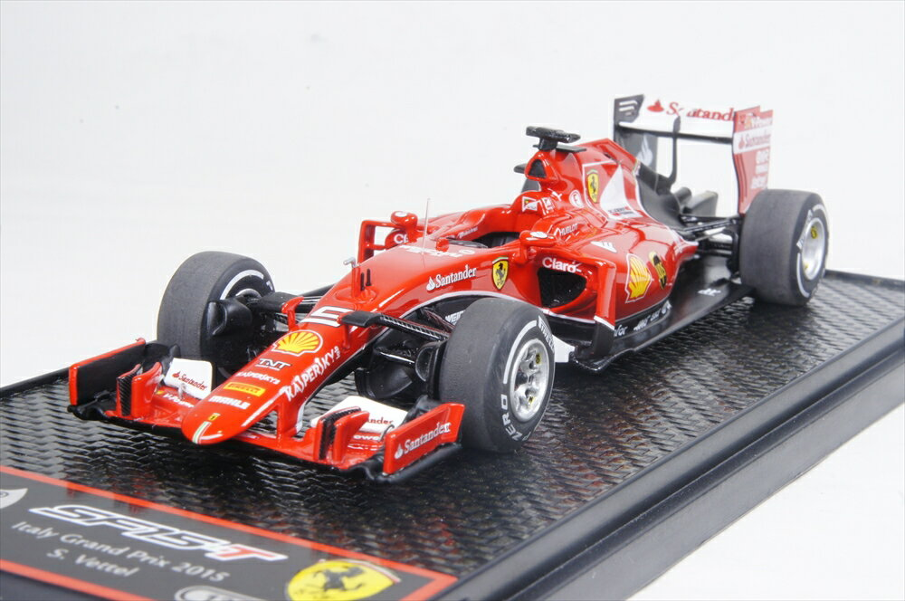 BBR 1/43 フェラーリ SF15-T 2015年 イタリアGP No.7 S.Vettel 限定200台 1/43 フェラーリ SF15-T 2015年 イタリアGP No.7 S.Vettel 限定200台 完成品ミニカー BBRC174A