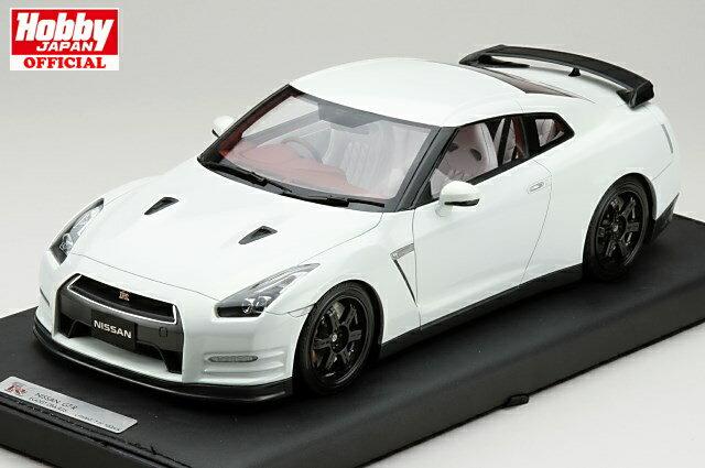 MARK 1/18 ニッサン GT-R R35 エゴイスト 2013 アルティメイトパールホワイト 限定100台 完成品ミニカー PM1803W