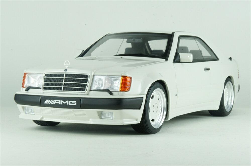 ディーラー別注 1/18 メルセデスベンツ 300 CE C124 AMG 6.0L ワイドボディ ホワイト シリーズ 完成品ミニカー B66040639