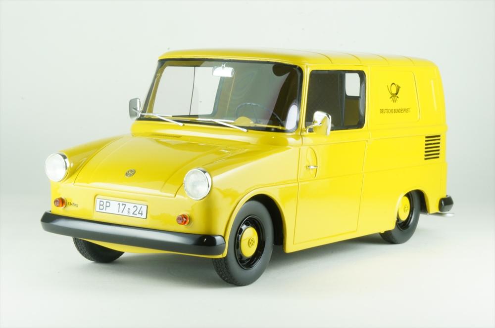 シュコー 1/18 フォルクスワーゲン フリドリン ドイツポスト 完成品ミニカー 450012200