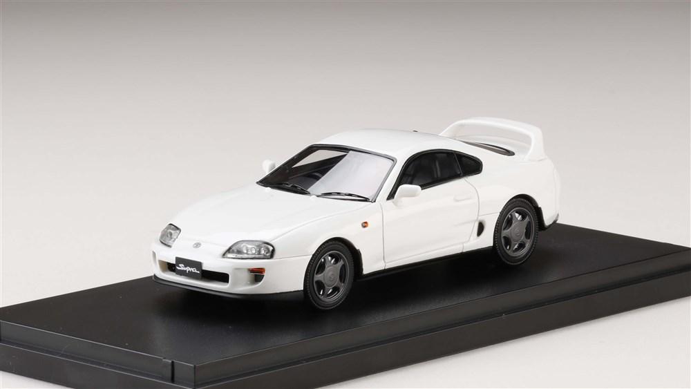 MARK43 1/43 トヨタスープラ(A80) 1993 スーパーホワイト 完成品ミニカー PM4307AW