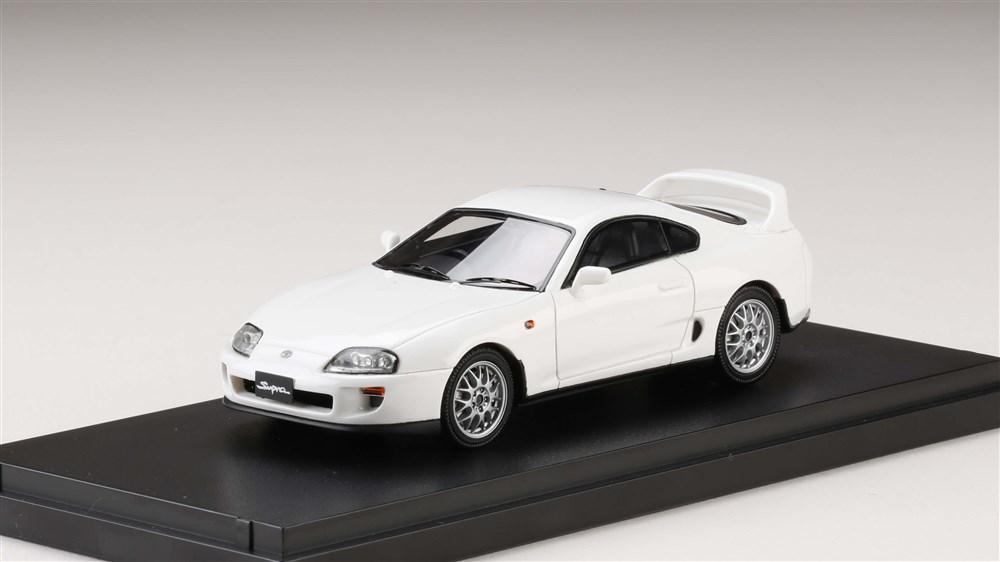 MARK43 1/43 トヨタスープラ(A80) 1993 カスタムバージョン スーパーホワイト 完成品ミニカー PM4307ASW
