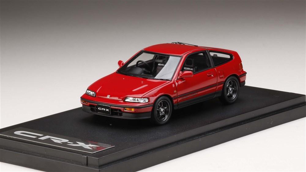 【予約】 MARK43 1/43 Honda CR-X Si (EF7) with 無限 RNR Wheel レッド 完成品ミニカー PM43115MR