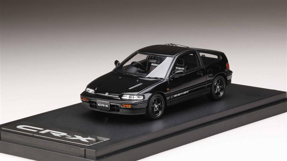 【予約】 MARK43 1/43 Honda CR-X Si (EF7) with 無限 RNR Wheel ブラック 完成品ミニカー PM43115MBK