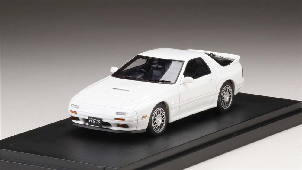 MARK43 1/43 マツダ RX-7 (FC3S) GT-X クリスタルホワイト 完成品ミニカー PM43101W