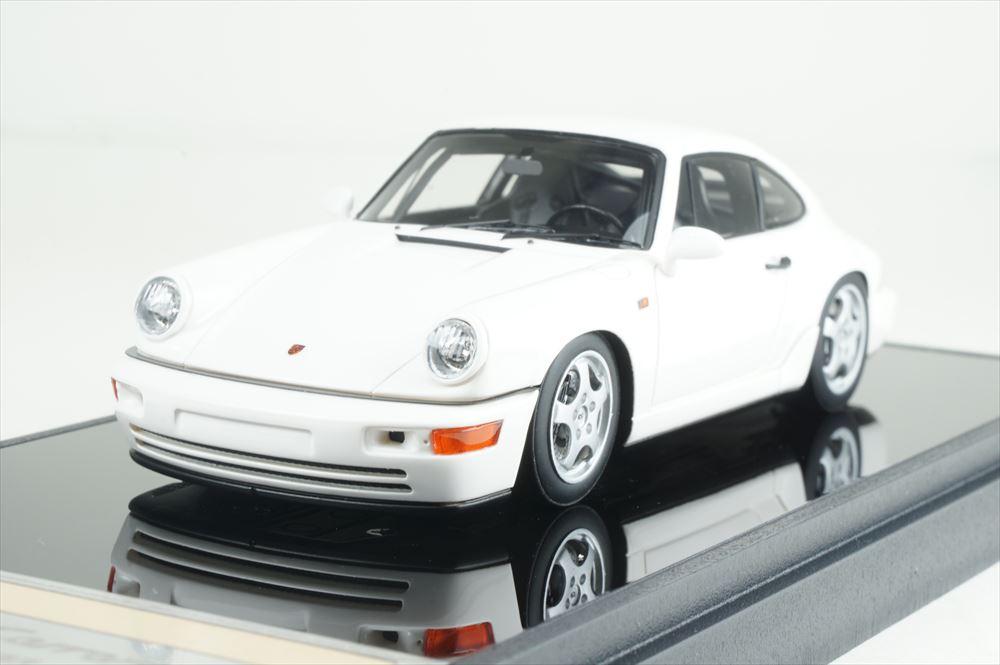 ヴィジョン 1/43 ポルシェ 911 964 カレラ RS クラブスポーツ 1992 ホワイト 完成品ミニカー VM139C